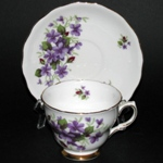 Colclough Violets Teacup