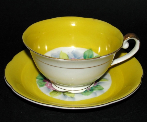 Yellow Japan Teacup