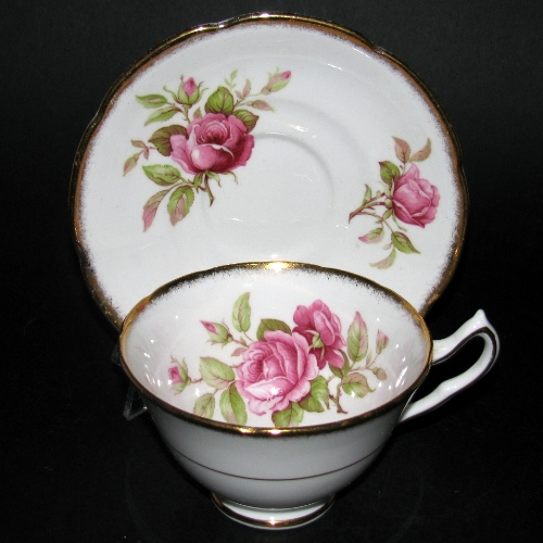 Collingwood Red Roses Teacup and Saucer