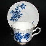 Flow Blue Teacup