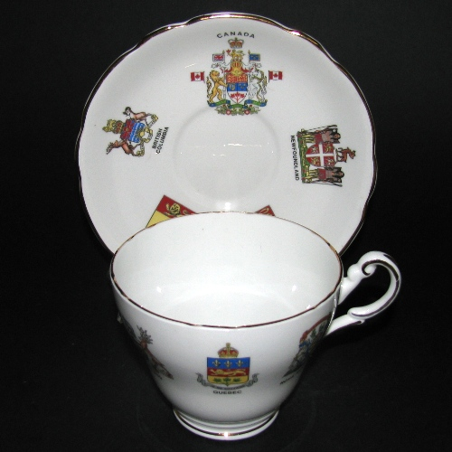 Royal Darwood Provincial Emblems Teacup