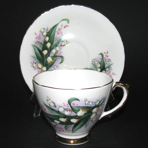 Royal Trent Lily of the Valley Teacup