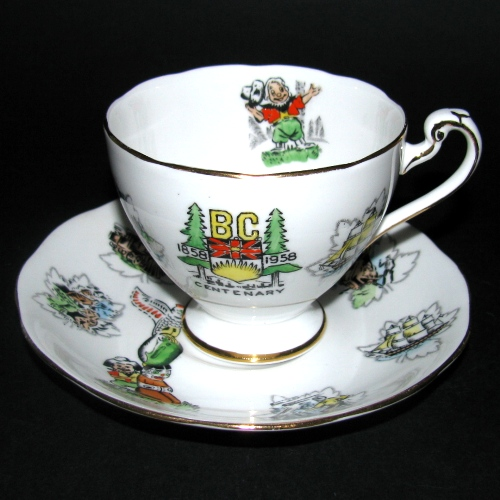 Roslyn BC Centenary Teacup and Saucer