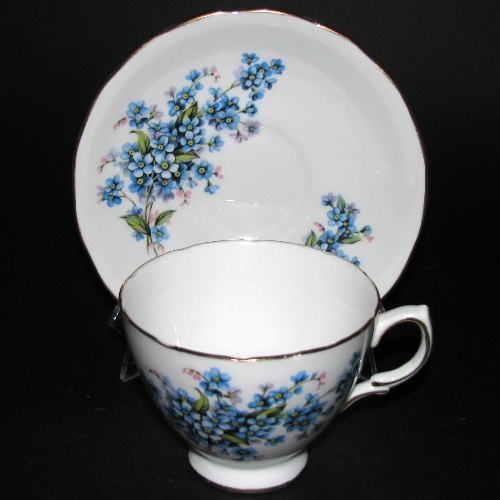 Royal Vale Forget Me Not Teacup