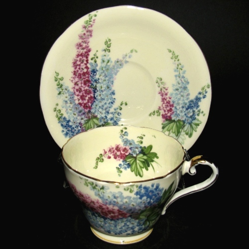 Aynsley Delphiniums Teacup