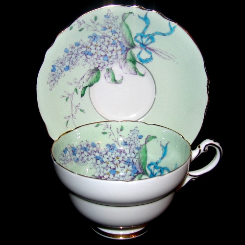 Paragon Lilac Teacup and Saucer