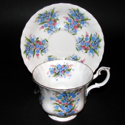 Royal Albert Forget-Me-Not Teacup