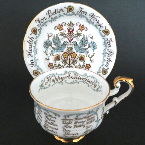 Paragon Happy Anniversary Teacup