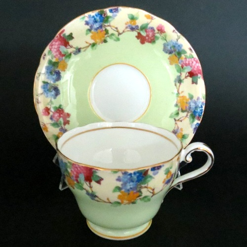 Aynsley Floral Blossoms Teacup