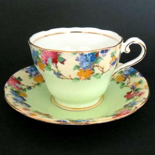Aynsley Colorful Teacup