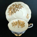 Golden Roses Teacup