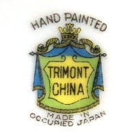 Hand Painted Trimont China Occupied Japan