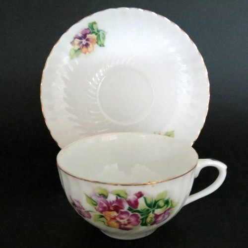 Japan Floral Bouquet Teacup