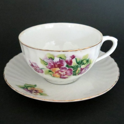 Shafford Floral Bouquet Teacup