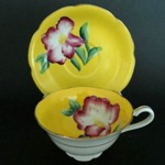 Shafford Yellow Floral Teacup