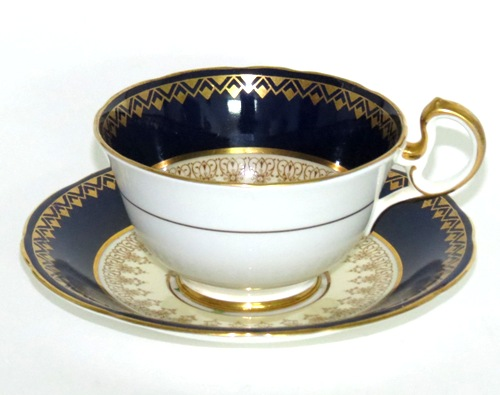 Aynsley Cobalt Teacup