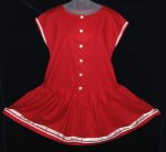 Laura Ashley Red Ribbon Dress