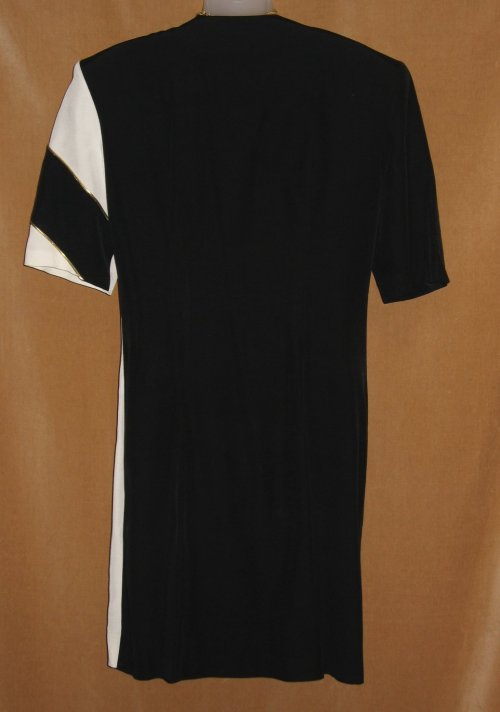 Joseph Ribkoff Black White Double Breasted Dress