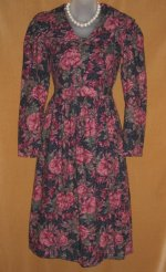 Laura Ashley Full Sweep Floral Dress