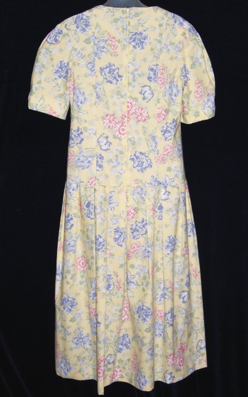 Laura Ashley Cotton Wide Sweep Summer Dress
