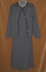 Laura Ashley Pin Stripe Twin Dress Set