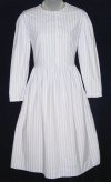 Laura Ashley Blue Pinstripe Dress