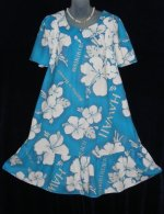 Hookano Muumuu Hawaiian Dress