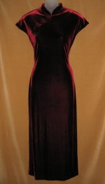 Joseph Ribkoff Velvet Wiggle Dress Gown