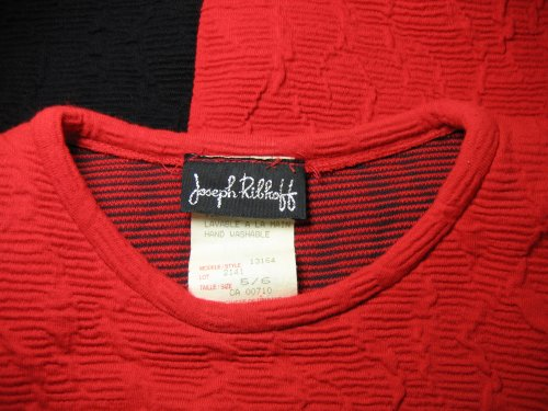 Joseph Ribkoff Tag on Wiggle Dress