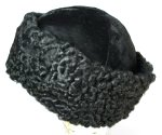 Black Persian Lamb Fur Hat