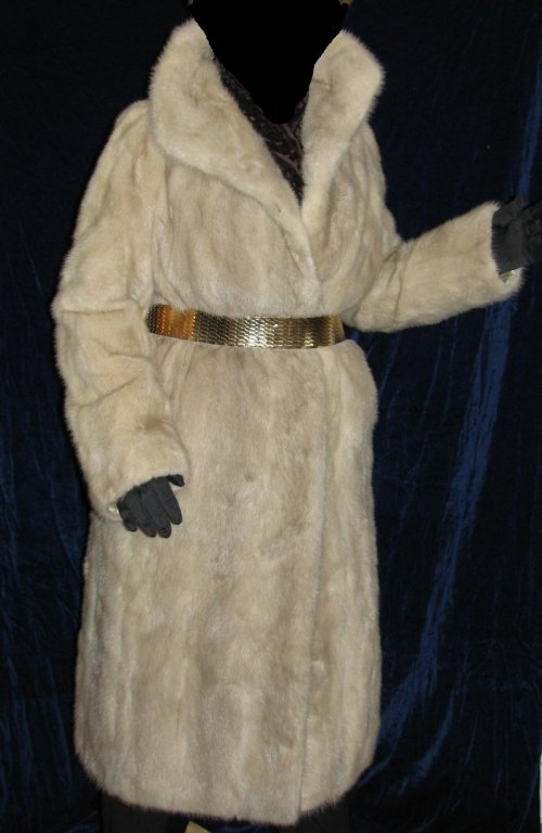 031043d84e1 Blush Mink Coat Full Length at Classy Option - Vintage Mink Fur Coat