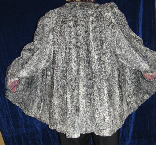 Varietaged Persian Lamb Jacket