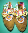 Authentic Ojibwe Cree Mocassins