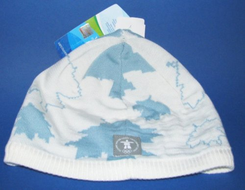 Official Vancouver Olympic Maple Leaf Beanie Hat