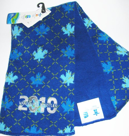 Official Vancouver 2010 Whistler Olympic Scarf