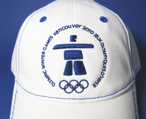 Official Olympic Vancouver 2010 Inukshuk Ball Cap