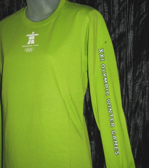 Official Vancouver Olympic Ladies Shirt