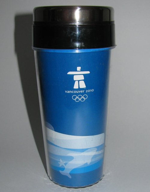 Official Vancouver 2010 Olympics Travel Mug