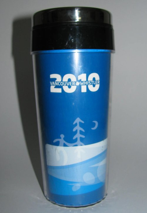 Official Vancouver Olympics Travel Mug
