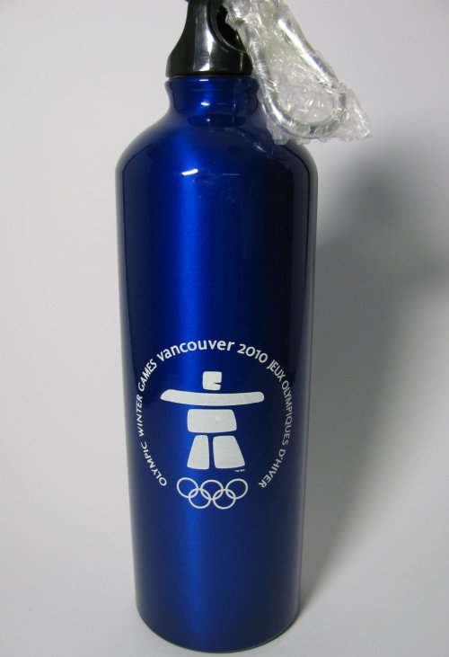 Official Vancouver 2010 Olympics Water Bottle