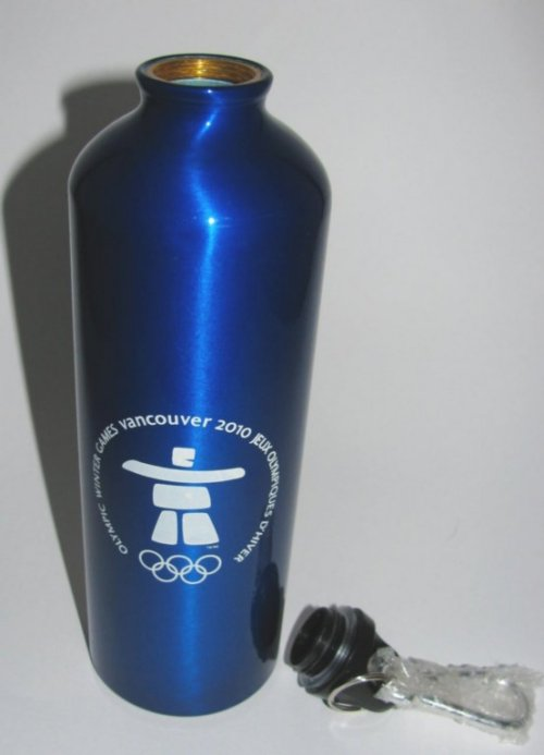 Official Vancouver 2010 Olympic Games Water Bottle