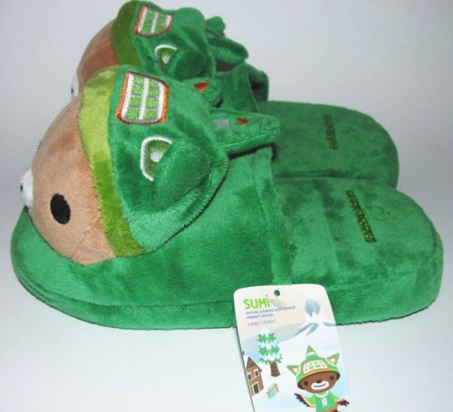 Mascot Slippers with Tag