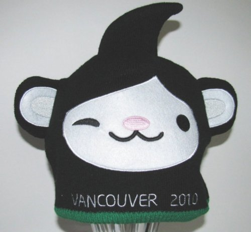 Miga Official Olympic Vancouver Beanie Mascot Hat
