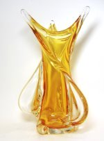 Chalet Honey Twist Art Glass