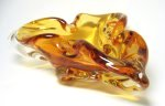 Chalet Art Glass Amber