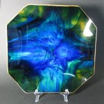 Seetusee Mayfair Blue Green Dish