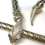 Whiting and Davis Snake Necklace