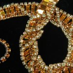 Vintage Kramer of New York Rhinestone Necklace