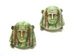 Egyptian Pharaoh Brooches