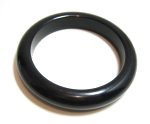 Black Bakelite Bangle
